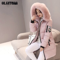 New Fashion Letter M- 3XL Winter Coat with Pocket Female Larg...