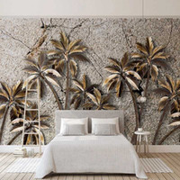 Drop Shipping Custom 3D Photo Wallpaper Tropical Rainforest ...