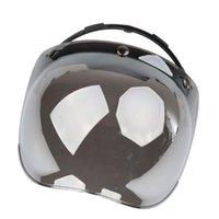 Motorcycle Helmets Helmet, Face Dust Cover Open, Bubble Cover, Groceries, Waterproof Glass, 3 Snap Antifogging Agent