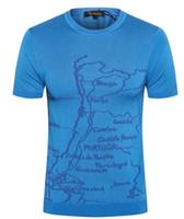 억 * 사자 * 에르 이탈리아어 양재 남성 T 셔츠 짧은 소매 2019 여름 새로운 라운드 넥 패션