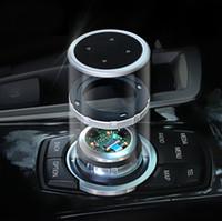 Idrive-Auto-Multimedia-Tasten Titel M-Emblem-Aufkleber für BMW X1 X3 X5 X6 F30 E90 E92 F10 F18 F07 GT Z4 F15 F15 F25 E60 E60 E61