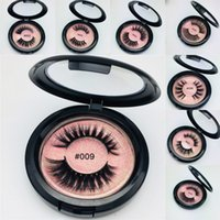 Pink BOX 3D Mink Eyelashes Mink Eyelash Extensions Thick Min...