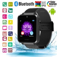 Cartão SIM Apoio de aço do Bluetooth relógio inteligente Z60 inoxidável TF câmera de Fitness Rastreador inteligentes Sports Watch Aplicável para IOS Android Phone