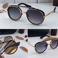 New luxury fashion sunglasses SPACE round small frame design...