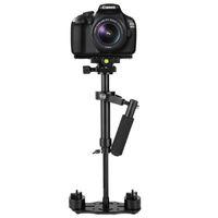 Lightdow S40 / S60 Aliminum Alloy Professional Handheld Stabilizer Steadicam Camera Bracket Hållare för Canon Nikon Sony Pentax Fuji Kameror