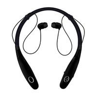 Nuevo HBS 900S Auriculares inalámbricos con banda para el cuello Auriculares Bluetooth Auriculares estéreo en la oreja con micrófono Auriculares con cancelación de ruido magnético Running Sport