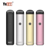 100% d'origine Yocan Evolve 2.0 Starter Kit 3 en 1 Vape Pen Céramique Bobine Préchauffer Batterie 650mAh Jus Réglable Vaporisateur D'Huile Vaporisateur