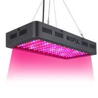 1000W LED växer ljus fullt spektrum för inomhus växter sådd / växande / blommande med dubbla marker ledde växande glödlampor