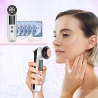 Portable soin des yeux rf machine faciale rides enlever la peau raffermissant kin rajeunissement LED Photon Puffiness dispositif