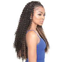 WATER WAVE Spring Twist Synthetic Crochet Braids Freetress H...