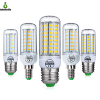 E27 E14 SMD5730 LED Lamba 7 W 12 W 15 W 18 W 20 W 22 W 220 V Mısır Işıkları LED Ampuller Avize 48 56 69 72 LED'ler
