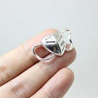 30pcs-- Mücevher Yapımı kolye için Charm 30x15x4.5mm Antik gümüş sesi Alaşım Maske Charms Pandantifle Conector DIY Maske
