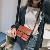 Women' s Bags 2020 New Retro Skin Square Sling Bag Shoul...