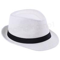 Moda Panama Hasır Şapka Fedora Yumuşak Erkekler Kadınlar Yaz Plaj Güneş Straw Cimri Brim açık Caps FFA3715G