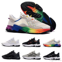 2019 lujo 3M reflexivo Xeno Ozweego para hombres Speed ​​Calabasas Casual Shoes Trainer Sports Designer Sneakers Chaussures