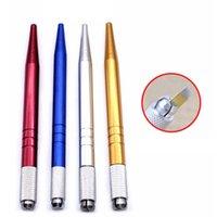 ماكياج دائم يدوي القلم 3D الحاجب التطريز اليدوية الوشم MicroBlading القلم الدائم ماكياج آلات أدوات ماكياج RRA2341