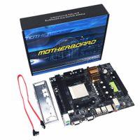 Freeshipping N68 C61 Desktop Computer Scheda madre Supporto per AM2 per AM3 CPU DDR2 + DDR3 Memory Mainboard con 4 porte SATA2