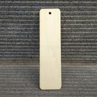 50pcs bookmark bois 32mmx 120mmx3mm Contreplaqué Blank Bookmark Tags Étiquettes taille peuvent être customzied Livraison gratuite