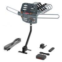 Горячие продажи 150 Miles HD Digital TV антенный усилитель сигнала Открытый ТВ антенны VHF / UHF Black