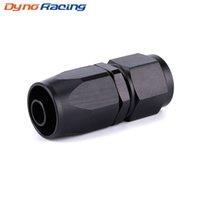 AN8 Прямой Поворотная масло топливного газа Линия шланга Конец Adapter Black Fast Flow Мазут оплеткой Fitting TT101286