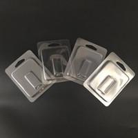Clear Packaging Box Vaporizer Atomizzatore Clam Shell Blister Scatola d'imballaggio per JUUL Pod Vape Pen LOGO personalizzato Empty Pod Cartridge