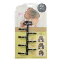 French Weave Hair Styling Braider Tool Magic Hair Twist Roller Bun Cheveux Tressage Avec Crochet Accessoires