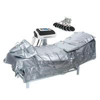 Espaço de pressão infravermelho distante emagrecimento EMS Máquina de drenagem da drenagem da pressão do ar da sauna do muscle da sauna para venda