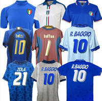월드컵 레트로 이탈리아 1990 2000 축구 축구 1994 Jersey Maldini Baggio Donadoni Schillaci Totti del Piero 2006 Pirlo Inzaghi Buffon
