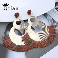 Qtian NEW Tassel Earrings for Women Big Fringe Earings Fashi...