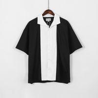 Japão camisetas 2020 mulheres Man 1 qulity alta pretos brancos panda costura camisa da cor t tees S-XL