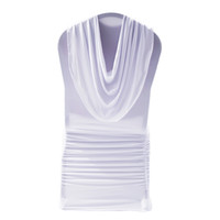 Livia Event Tex Jul Vit Valance Ruffled Lycra Chair Cover For Wedding Bankett Events Decor Stretch Chair Cover Black