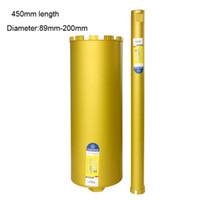 Foret à noyau de diamant humide pour longueur de 450mm pour béton - Maçonnerie série Premium