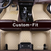 Camry Avalon Corolla için Özel Fit Araba Paspaslar Corolla Crown Prius V Land Cruiser 100 200 Prado 120 150 Halı Gömlekleri