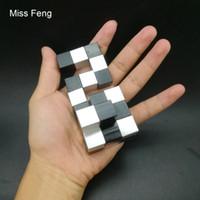 H366 / Aluminio Juguete inteligente 3D Puzzle Metal Juguetes Brain Tester El juego mejora la capacidad de resolución de problemas