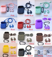 13 Colors 3in1 Non- slip Silicone Thicken Cover Earphones Pou...