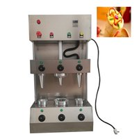 máquina Pizza Cone Equipamento de comércio industrial Pizza Cone que faz a máquina e elétrica Handheld Pizza Making Machine Preço