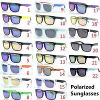 Brand Designer Spied Ken Block Polarized Солнцезащитные очки Хелм 22 Цвета Мода Мужчины Квадратная Рамка Бразилия Горячие Лучи Мужчины Вождение Солнцезащитные Очки
