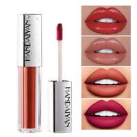 DHL libre Más reciente Handaiyan Doce colores Velvet Matte Cream Hidratantes Brillo de labios De colores brillantes en stock con regalo