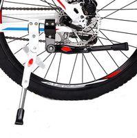 دراجة وقوف السيارات رف ركلة Kickstand لجبل دراجة دراجة دورة الدعامة الخلفية الجانبية يقف اكسسوارات دراجات قدم دراجة أدوات LJJK2167