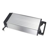 Бесплатная доставка корпус из алюминиевого сплава литий-ионный аккумулятор 1kwh 48 В 20AH для 750 Вт 1000 Вт 1200 Вт двигатель с зарядным устройством