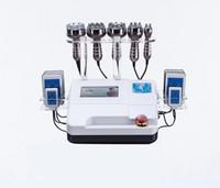 40K cavitação ultra-sônica multipolar RF 8 almofadas LLLT lipo laser vácuo lipoaspiração máquina de emagrecimento cuidados com a pele salão de beleza spa