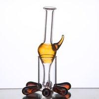 Accessori per fumo di vetro Cap Sterzatore con colori misti Hold Carb DAB Rig Universal Colorato Ciotola 771 772