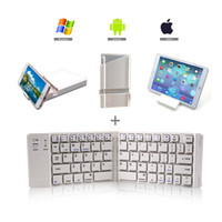 Metal Business Gifts Folding Keyboard Bluetooth Wireless Two...