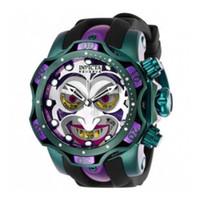 Invicta Reserve Модель - 26790 DC Comics Joker Venom Limited Edition швейцарский кварцевый Chronograp силиконовый ремень кварцевые часы