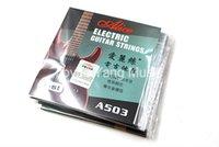 10 حزمة أليس A503-009 / 010 في. سلاسل الغيتار الكهربائي E-1 واحدة مطلي الصلب سلسلة شحن مجاني