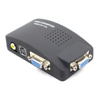 AV в VGA Video Converter RCA для монитора AV TO VGA