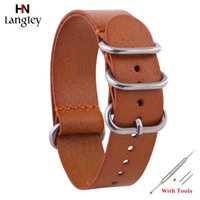 Hot First Layer Cowhide Watch Strap For Men Women Wristwatch...