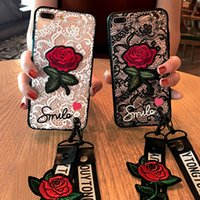 Beautiful Fashion Sexy 3D Rose Flower Case For iPhone 6 6s 7...