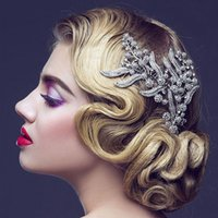 Bridesmaid Hair Comb Women Wedding Hair Accessories Leaves B...