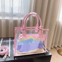 Frühling und Sommer Neue Show Damen Transparente Gelee Tasche Jugend Moderne Umhängetasche Mode Super Value Handtasche